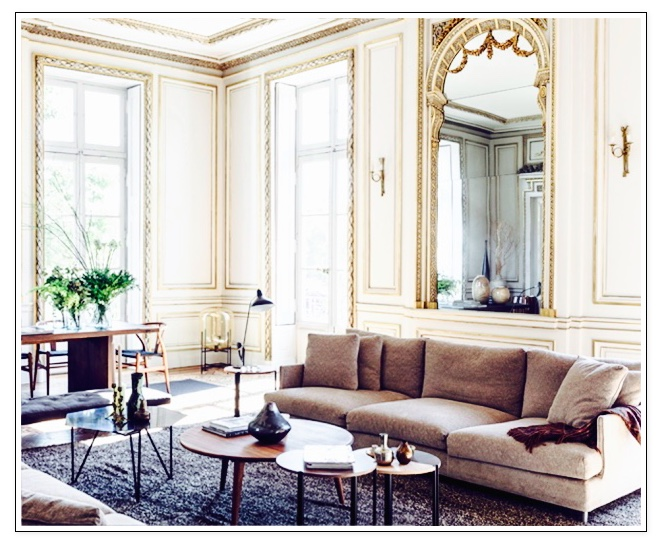 Delightful Tres Chic French Apartment
