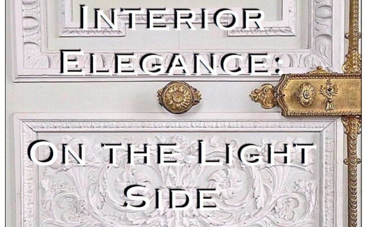interior elegance on the light side