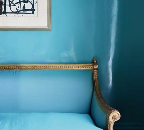 aqua blue home